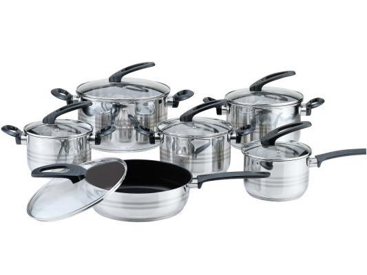 Набор посуды Bekker Premium BK-2710 12 предметов набор посуды bekker deluxe из 13 ти предметов вк 2862
