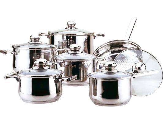 Набор посуды Bekker Jumbo BK-271 12 предметов bekker чайный сервиз bekker bk 7145 15 предметов ihygxrd