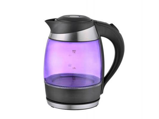 Чайник Zimber ZM-10977 2000 Вт 1.8 л пластик чёрный фиолетовый