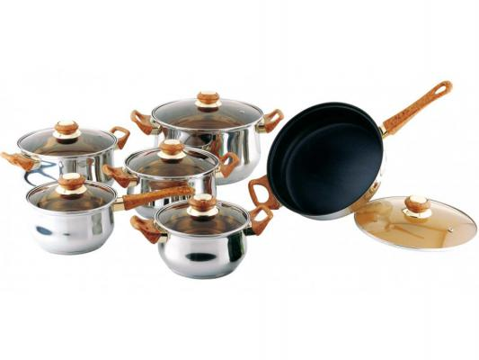 Набор посуды Bekker Classik BK-226 12 предметов набор посуды bekker classik вк 201