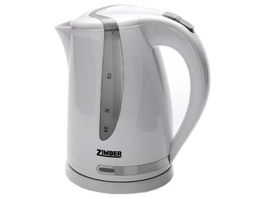 Чайник Zimber ZM-10831 2200 Вт 1.7 л пластик белый зелёный