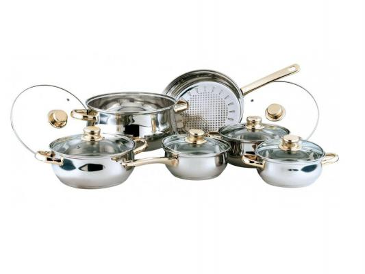 Набор посуды Bekker Classic BK-202 12 предметов набор посуды bekker deluxe из 13 ти предметов вк 2862