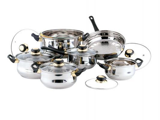 Набор посуды Bekker Classik BK-201 12 предметов цена 2017