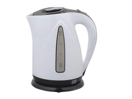 Чайник Zimber ZM-10976 2000 Вт 2 л пластик белый чёрный