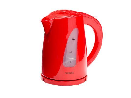 Чайник Zimber ZM-11029 2200 Вт 1.7 л пластик красный