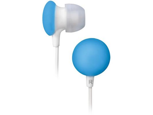 Наушники BBK EP-1170S бело-голубой