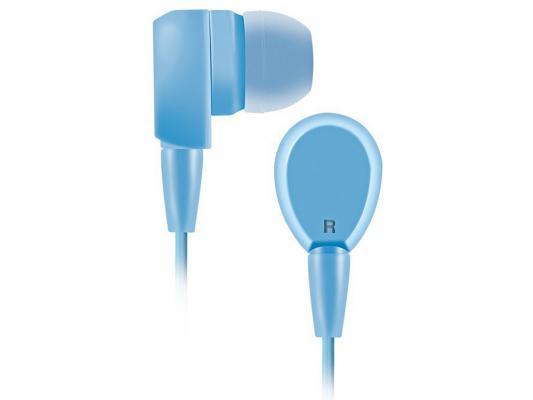 Наушники BBK EP-1430S голубой наушники bbk ep 1200s вкладыши белый проводные