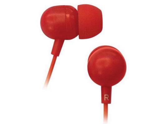Наушники BBK EP-1160S красный цена