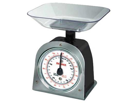 Весы кухонные Bekker BK-2 серый чёрный