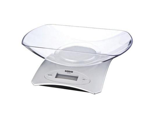 Весы кухонные Bekker BK-9103 серебристый