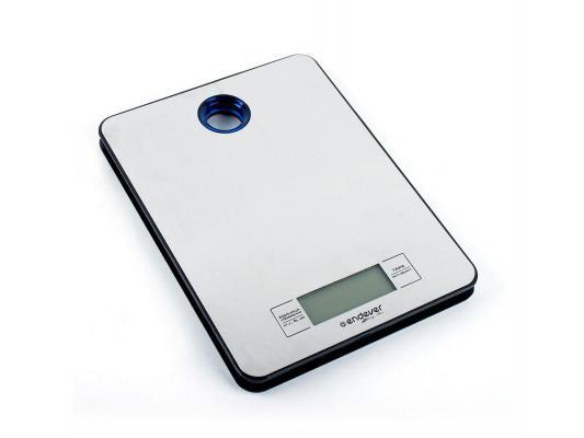 Весы кухонные ENDEVER Skyline KS-505 электронные серебристый серый