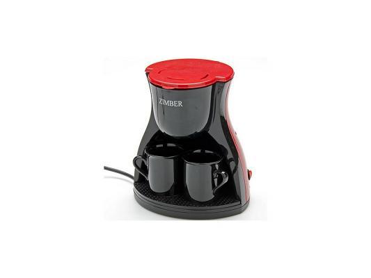 Кофеварка Zimber ZM-10979 красный