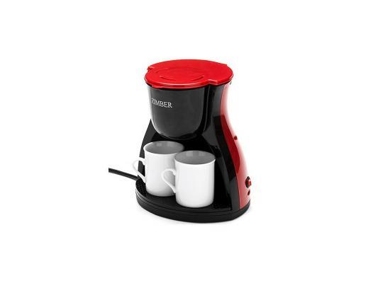 Кофеварка Zimber ZM-10980 красный цена