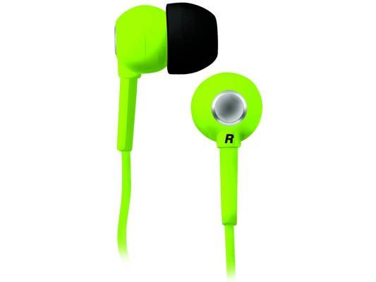 Наушники BBK EP-1200S зеленый наушники bbk ep 1200s вкладыши оранжевый проводные