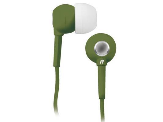 Наушники BBK EP-1200S оливковый bbk ep 1200s green