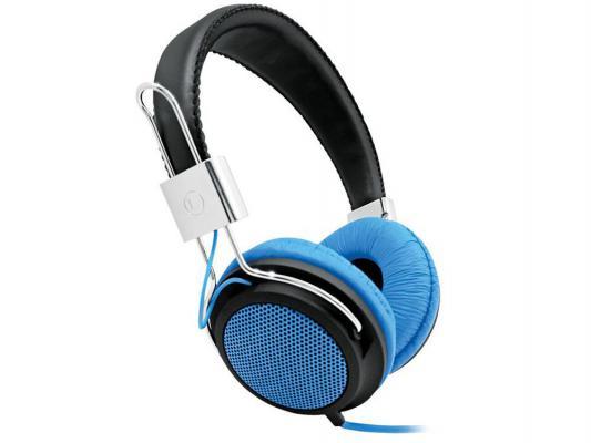 Наушники BBK EP-3500S черно-голубой