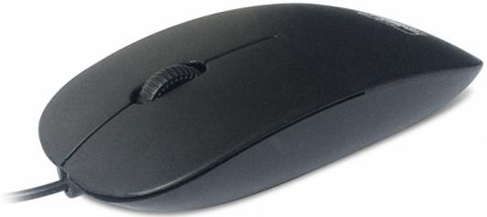 Мышь проводная CBR CM-104 чёрный USB цена и фото
