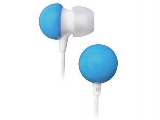 Наушники BBK EP-1140S бело-голубой