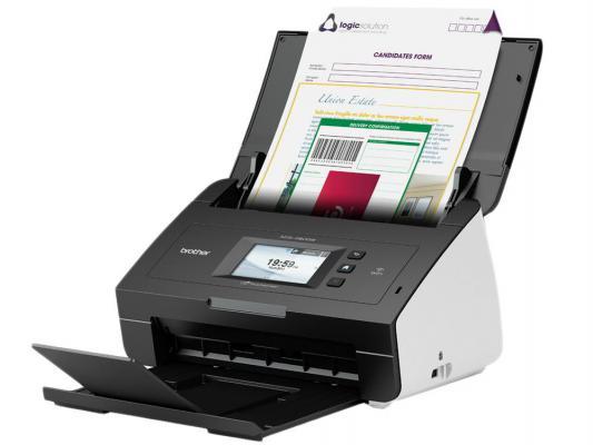 Сканер Brother ADS-2600WE протяжный CIS A4 600x600dpi 24bit USB Ethernet Wi-Fi