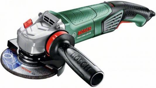 Углошлифовальная машина Bosch PWS 1300-125 CE 125 мм 1300 Вт углошлифовальная машина болгарка bosch pws 750 125
