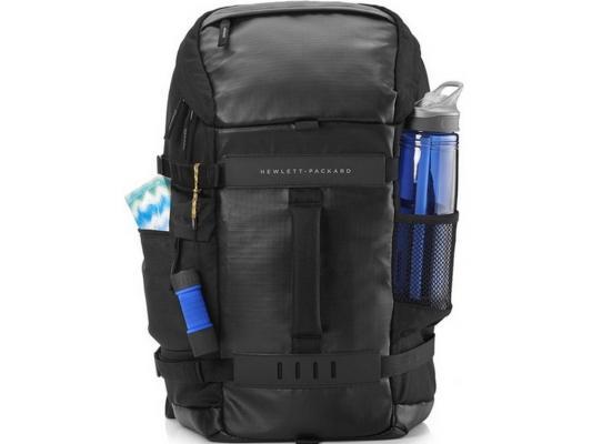 Рюкзак для ноутбука 15.6 HP L8J88AA Odyssey серый/черный рюкзак hp 15 6 black odyssey backpack l8j88aa