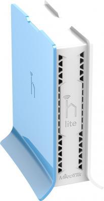Беспроводной маршрутизатор MikroTik hAP lite 802.11bgn 300Mbps 2.4 ГГц 3xLAN белый RB941-2nD-TC
