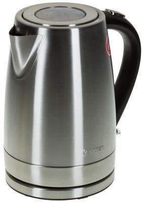 Чайник Vitek VT-7000 SR 2200 Вт 1.7 л металл серебристый