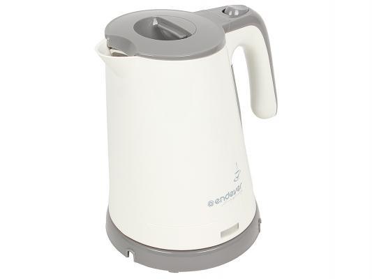 Чайник ENDEVER Skyline KR-315 2200 Вт 1.7 л пластик белый серый