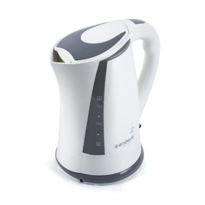 Чайник ENDEVER KR-314 2200 Вт 1.7 л пластик белый серый