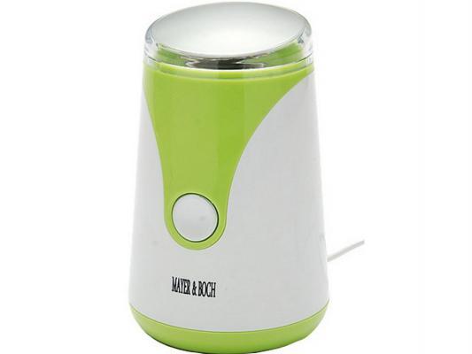 Кофемолка Mayer&Boch MB-11003 150Вт бело-зеленый