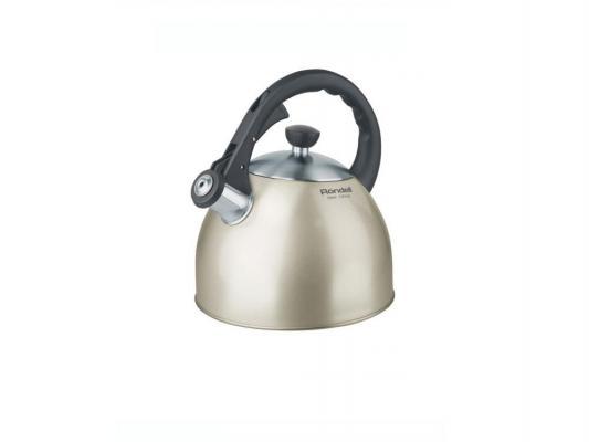 Чайник Rondell Heis RDS-100 2 л нержавеющая сталь серебристый чёрный