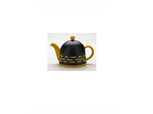 Чайник заварочный Mayer&Boch 21874 0.8 л керамика чёрный жёлтый