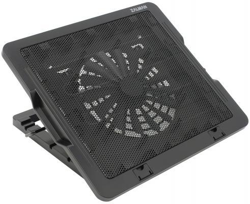 """Подставка для ноутбука 16"""" Zalman ZM-NS1000 черная вентилятор 120x120 zalman zm f3 str 3 pack"""
