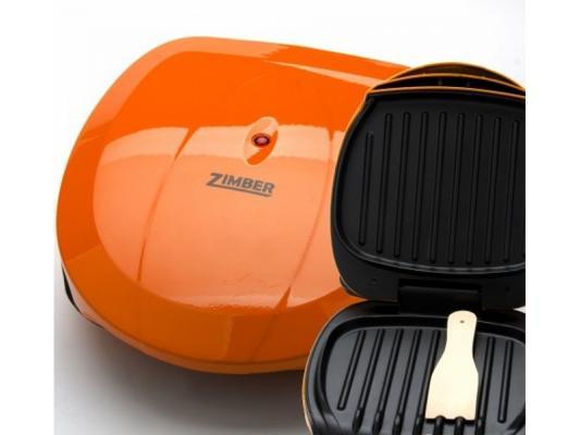 Электрогриль Zimber ZM-10801 900Вт оранжевый