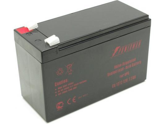 Батарея Powerman CA1272 PM/UPS 12V/7.2AH батарея powerman ca1290 pm ups 12v 9ah