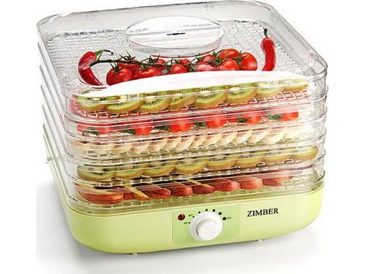 Сушка для овощей и фруктов Zimber ZM-11024 245Вт зеленый