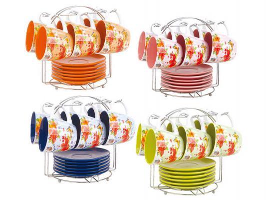 Чайный набор Bekker BK-6822 рисунок цвет в ассортименте 0.220 л керамика
