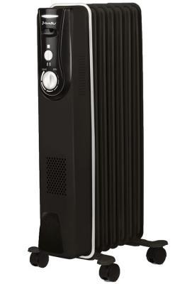 Масляный радиатор BALLU BOH/MD-07BBN 1500 Вт чёрный