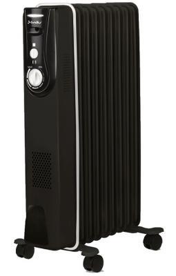 Масляный радиатор BALLU BOH/MD-09BBN 2000 Вт чёрный