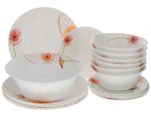 Набор посуды Mayer&Boch 24101 19 предметов белый с рисунком набор посуды mayer