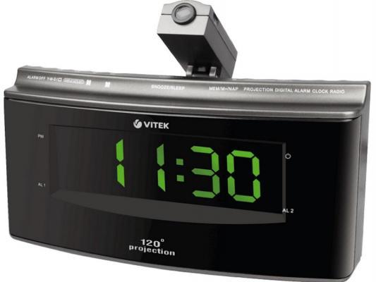 Часы с радиоприемником Vitek VT-6607GY