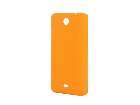 Чехол-накладка Pulsar CLIPCASE PC Soft-Touch для Microsoft Lumia 430 (оранжевая)