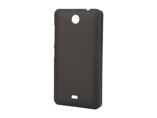 Чехол-накладка Pulsar CLIPCASE PC Soft-Touch для Microsoft Lumia 430 Dual (черная)