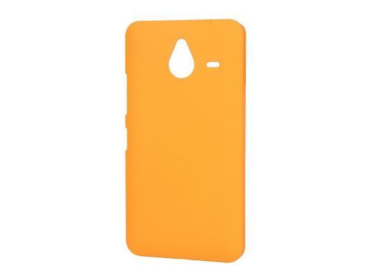 Чехол-накладка Pulsar CLIPCASE PC Soft-Touch для Microsoft Lumia 640 XL (оранжевая)