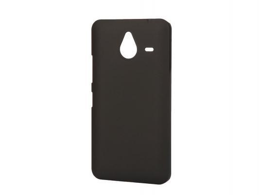 Чехол-накладка Pulsar CLIPCASE PC Soft-Touch для Microsoft Lumia 640 XL (черная)