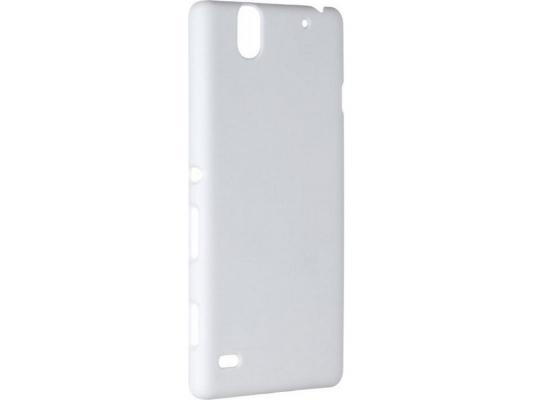купить Чехол-накладка Pulsar CLIPCASE PC Soft-Touch для Sony C4 (белая) по цене 260 рублей