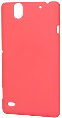 Чехол-накладка Pulsar CLIPCASE PC Soft-Touch для Sony C4 (красная) стоимость