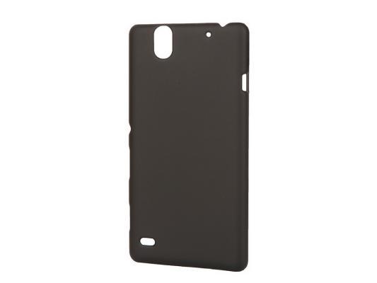 Чехол-накладка Pulsar CLIPCASE PC Soft-Touch для Sony C4 (черная) стоимость