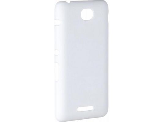 купить Чехол-накладка Pulsar CLIPCASE PC Soft-Touch для Sony E4 (белая) по цене 260 рублей