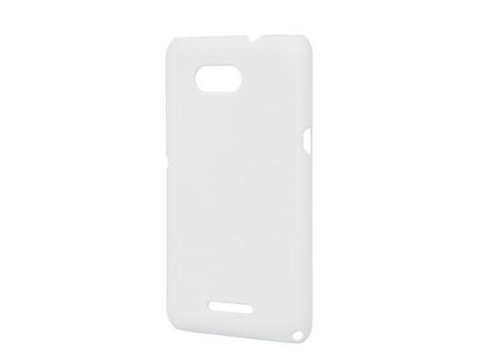 купить Чехол-накладка Pulsar CLIPCASE PC Soft-Touch для Sony E4G (белая) по цене 260 рублей